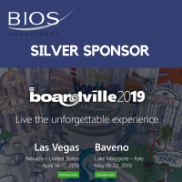 Bios Management Silver Sponsor at BOARDVille 2019